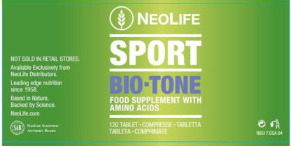 Eticheta fata flacon Bio-Tone NeoLife