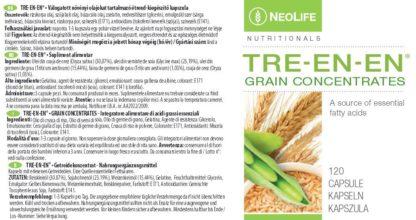 Eticheta produs Tre-En-En marca GNLD Neolife