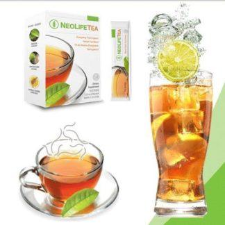 Cutie, ceasca si pahar cu ceai NeoLife, NeoLife tea