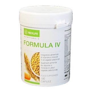 Cutie cu Formula-IV - Vitamine si Minerale - Multivitamine NeoLife GNLD