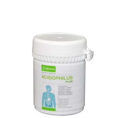 Flacon de Acidophilus Plus marca GNLD NeoLife