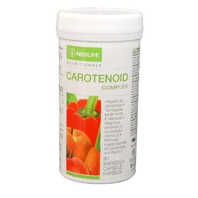 Flacon de Carotenoid Complex marca NeoLife GNLD