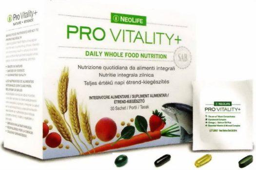 Cutie de Pro Vitality Plus, marca NeoLife GNLD