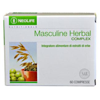 Cutie produs Masculine Herbal Complex marca GNLD NeoLife