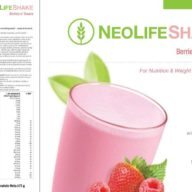 Cutie NeoLife Shake cu fructe de padure si frisca
