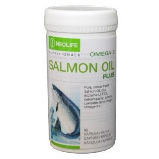 Flacon produs Salmon Oil Plus marca GNLD NeoLife
