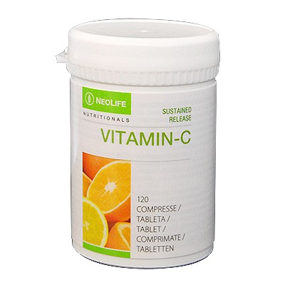 Flacon de Sustained Release Vitamin C de la NeoLife GNLD