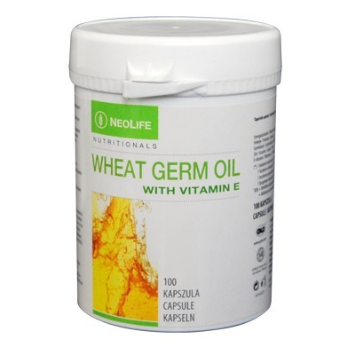 Cutie de Wheat Germ Oil marca GNLD NeoLife