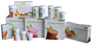 Mostra de produse NeoLife GNLD
